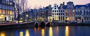 Amsterdam Canal - Ridgeway Pryce